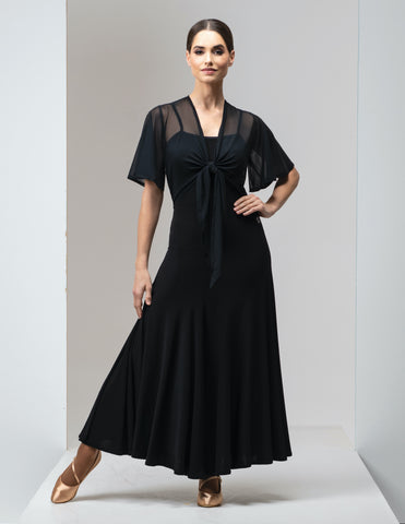 Chrisanne Clover Sienna Ballroom Dress in Black or Plum