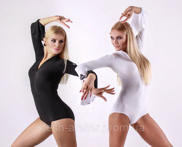 stesh atelier ladies bodysuit for latin dance or dancesport leotard from dancewear for you australia