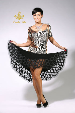 Zdenka Arko Ballroom and latin dance top from Dancewear For You Australia