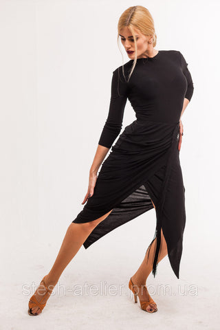 stesh atelier latin dance skirt from dancewear for you australia