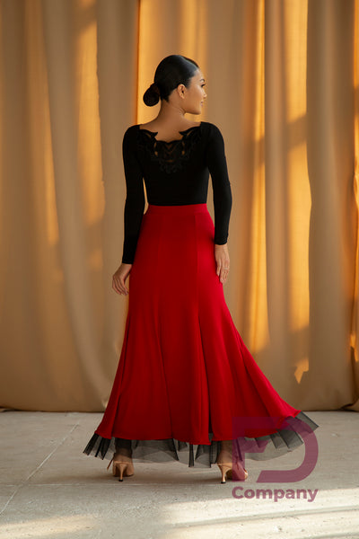 Ballroom Skirt JUS 1002/1 Various Colours