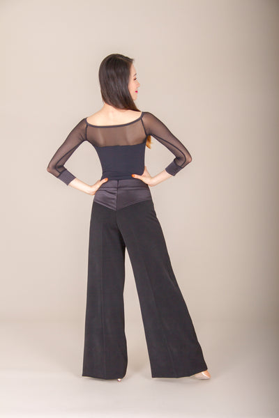 dsi black ladies dance trousers from dsi australia dancewear for you
