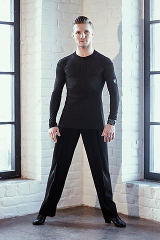 Free Australia-wide shipping with tracking.  Best price worldwide.  Trendy, stretch, cool & comfy slim fit dance practice top.  Perfect for teaching and practice.