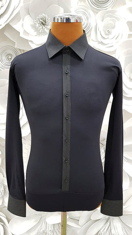 Free Aust-wide shipping.  Best price worldwide with tracking.  Made in Italy this stylish, stretch body shirt comes with built-in pants.    Available in collar sizes 35cm to 45cm.  Made using exclusive B-stretch fabric - Breathable, quick drying fabric. Can be buttoned with or without cufflinks.