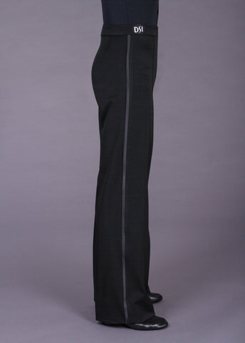 Plain Fronted Trouser with Satin Stripe 4004