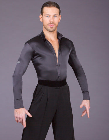 mens dsi satin latin competition shirt from dsi australia