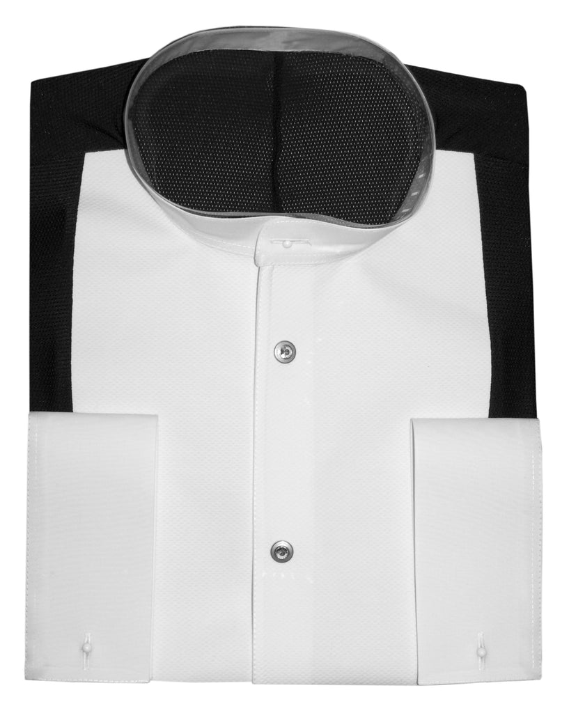 dsi mens black and white ballroom tail suit competition shirt from dsi australia with free shipping
