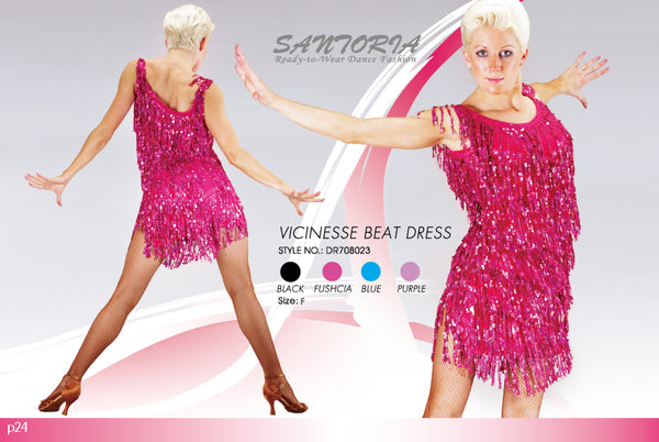 sequin fringe latin dress worn by joanna leunis from dancewear for you australia