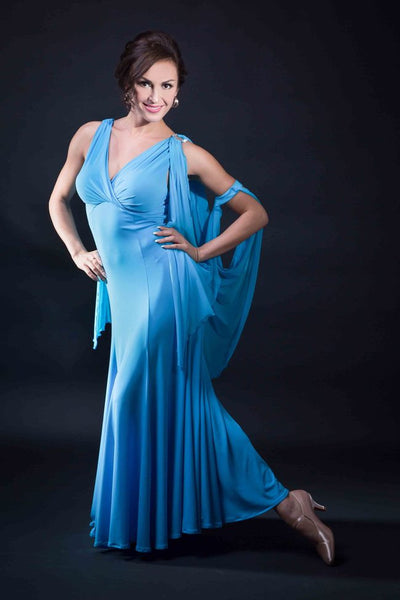 Santoria Ballroom Dance Dress from Dancewear For You Australia