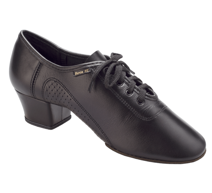 Free Australia-wide shipping  Worn & loved by Lucien Maart.  Dance Me Mens Latin Dance Shoes in Black Leather are perfect for Latin practice, performance and competition.  So comfy with flexible suede sole.  4cm Heel.