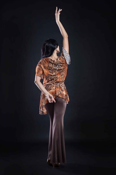 stretch dance pants with flared bottom from dancewear for you australia