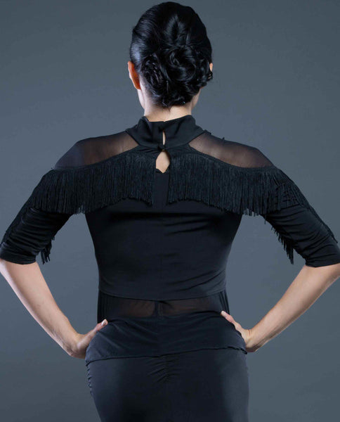 Fringe Latin Dance Top from Dancewear Australia