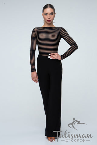 Elegant ladies Trousers for practice, performance and social dancing or evening wear and day wear from dancewear for you australia