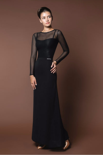 A beautiful Ballroom Dance Dress for practice, performance & DanceSport.