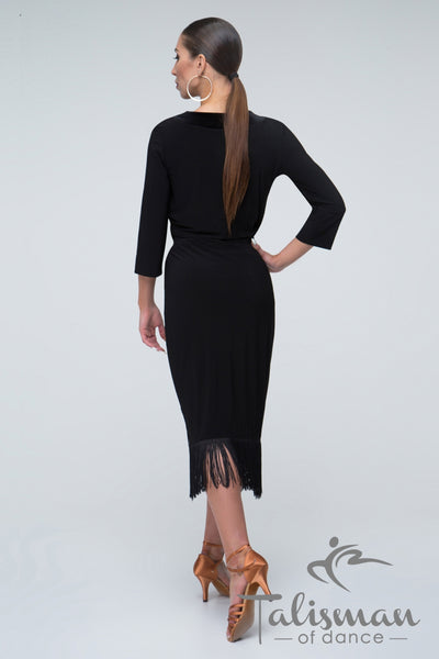 Dress for Latin practice, performance, DanceSport and social dancing or evening and cocktail wear.  A very flattering style for Latin and Tango from dancewear for you australia