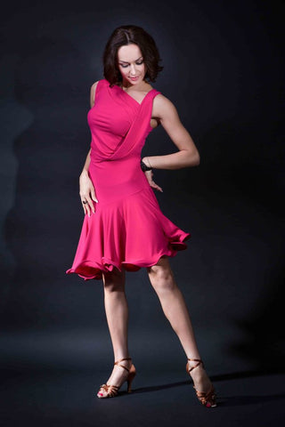 Santoria Latin Dance Dress from Dancewear For You Australia