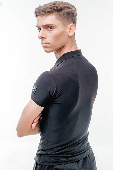 Free Australia-wide shipping with tracking.  Best price worldwide.  Trendy, stretch, cool & comfy slim fit dance practice polo.  Perfect for teaching and practice.