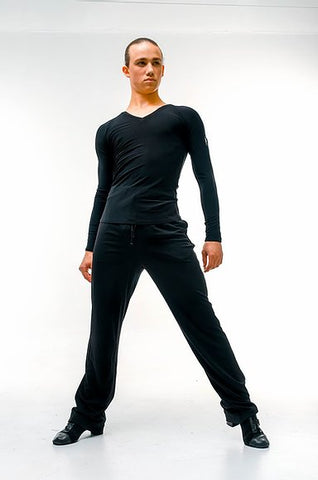 Free Australia-wide shipping with tracking.  Best price worldwide.  Trendy, stretch, cool & comfy dance practice trousers with drawstring waist and tapered leg.  Perfect for teaching and practice.