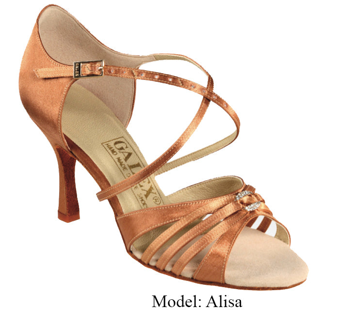 Alisa Ladies Latin Shoe