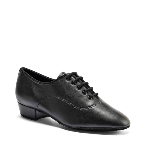 Boys MT Ballroom Shoe - Black Calf