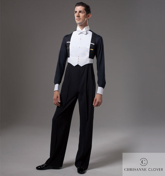 Chrisanne clover mens ballroom competition shirt from dancewear for you australia and nz