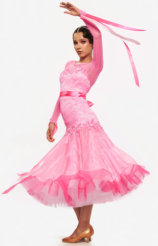 Sasuel Candy Junior Ballroom Competition Dress