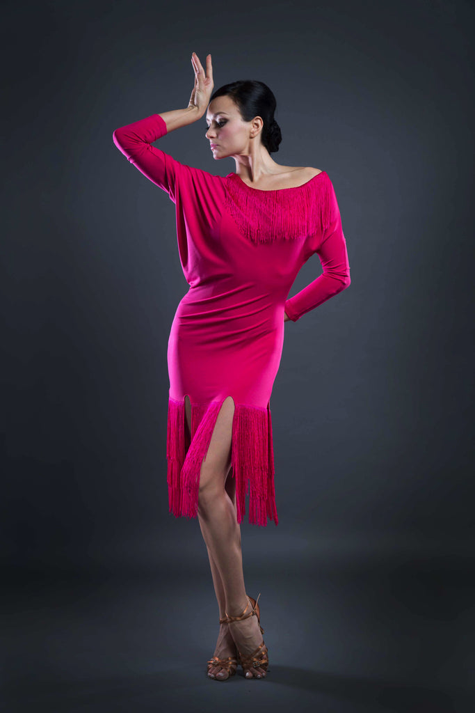 fringe latin dance dress from dancewear for you australia