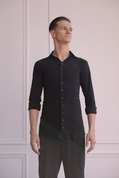 "Mens Dance Shirt ""Mirko"" by Danza"
