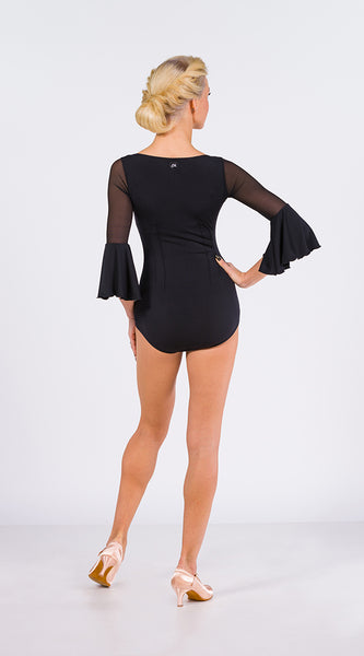 em couture ladies leotard bodysuit with long sleeves from dancewear for you australia