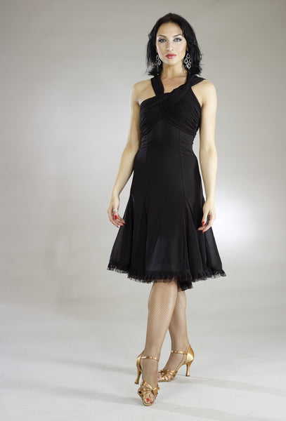 Santoria Gene Latin Dance Dress DR7032