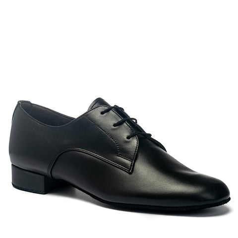 Mens Gibson Dance Shoe - Black Calf