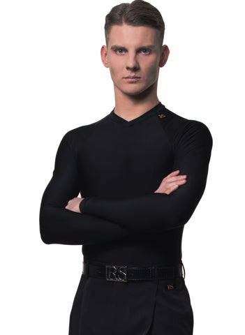 rs atelier mirko mens fitted dance top from dancewear for you australia and nz dancewear for men