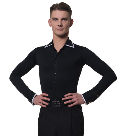 rs atelier mens andrea slim fit stretch shirt from dancewear for you
