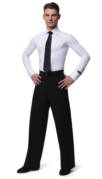 RS Atelier mens Carlo Smooth, Latin and Ballroom Trousers from dancewear for you australia and nz