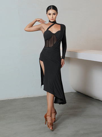 Free Australia-wide Shipping - safe & secure with tracking.  Personal Service.  Complete Zym Dance Style Range Available.  Best Price Guaranteed.  When you want to snatch up the moment we suggest the Tiova Dress.  This style is designed with stretch fabric, one shoulder detailing and mesh inserts