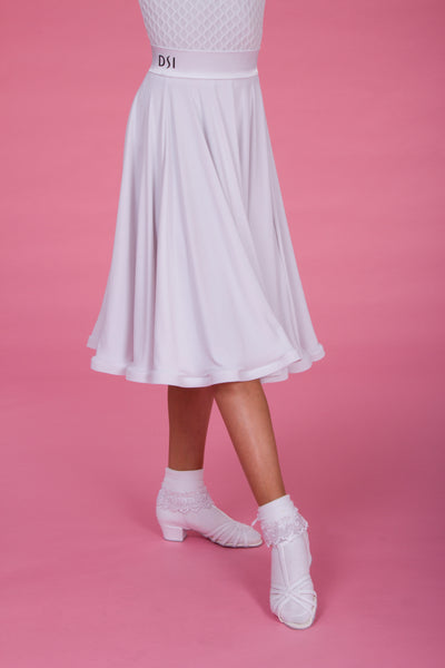 Premium Made to Order Girls Molly Ballroom or Latin Skirt 1091 from dancewear for you australia