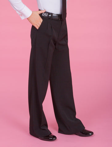DSI Boys Trouser with Two Small Pleats, Belt Loops & Pockets 1066