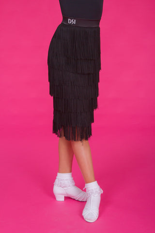 girls fringe latin skirt from dancewear for you australia