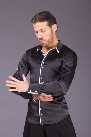 DSI Double Button & Trim Premium Made to Order Shirt 4083