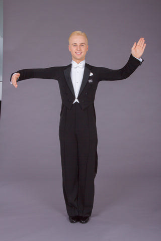 DSI London Mens Ready Made Ballroom Tailsuit 1041 from dancewear for you australia and nz