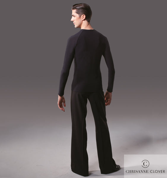 chrisanne clover mens v neck practice top from dancewear for you