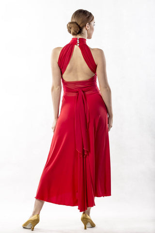 dancebox red ballroom and tango dance dress from dancewear for you australia