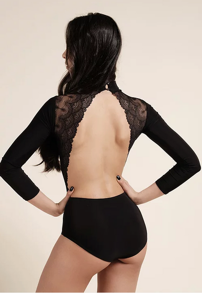 danza by dana spitsyna ladies wrap style bodysuit cross over wrap style leotard australia free shipping open back bodysuit with lace open back latin sexy leotard