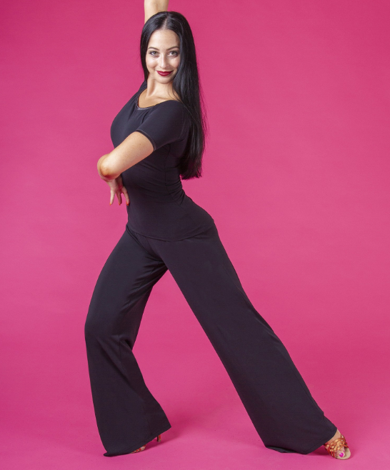 dsi ladies crepe trousers for dance practice dancewear and day wear and casual pants from dancewear for you australia free shipping