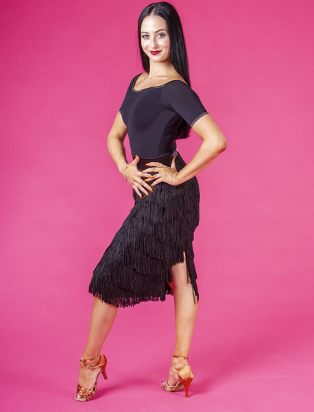 dsi fringe latin skirt from dancewear for you australia