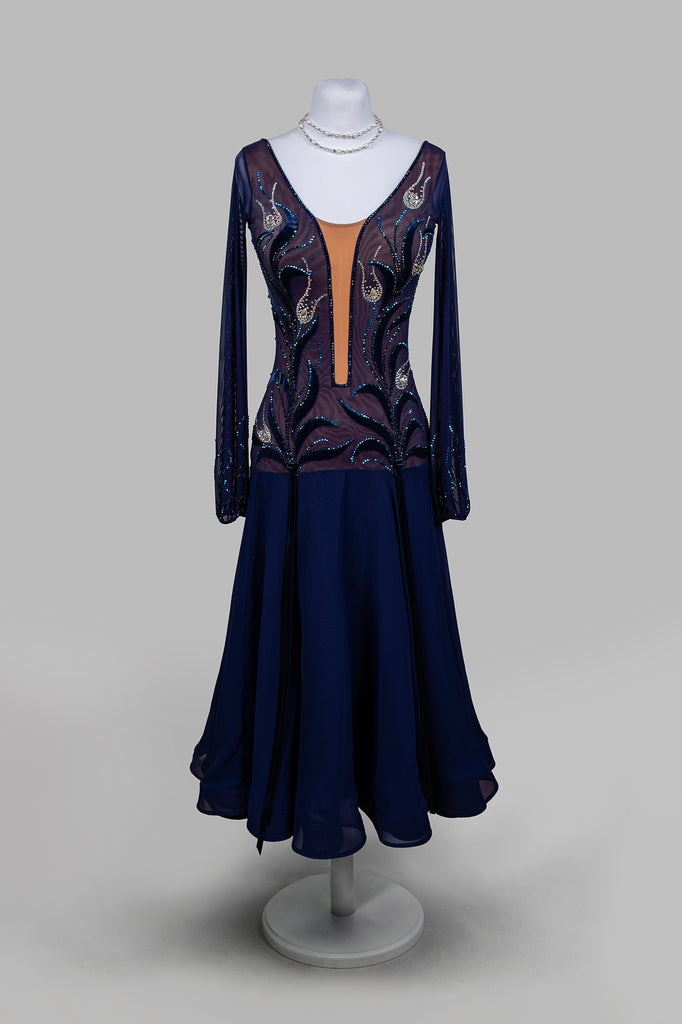 EM Couture Collection from Dancewear For You  A beautifully crafted collection of completed Ballroom or Latin Competition Dresses proudly presented at the best price guaranteed shipped to your door by Dancewear For You.