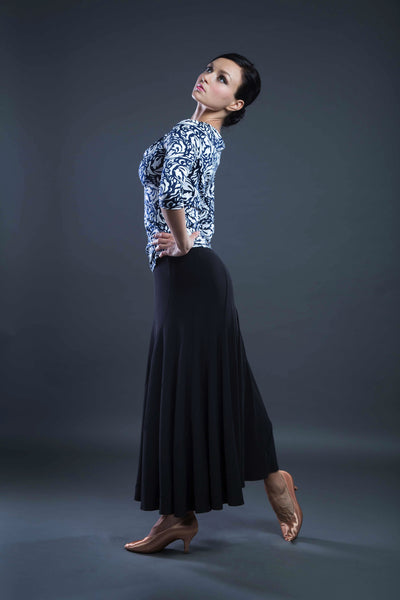 ballroom dance skirt from dancewear for you australia