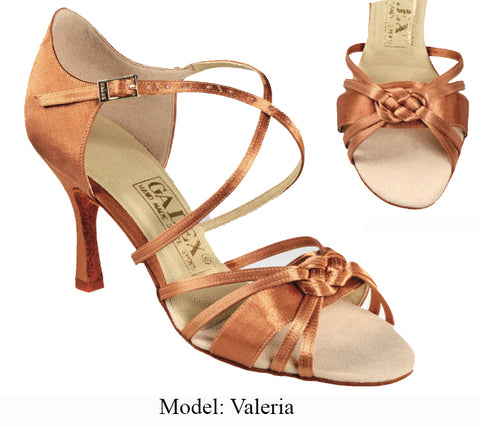 Valeria Ladies Latin Shoe