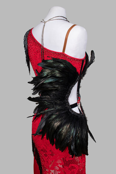 EM Couture - Wild Passion Latin Competition Dress