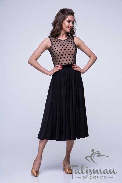 Black Ballroom Skirt YUS-972